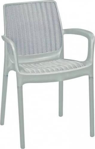 Zahradní židle Bali - bílá 230669 ALLIBERT