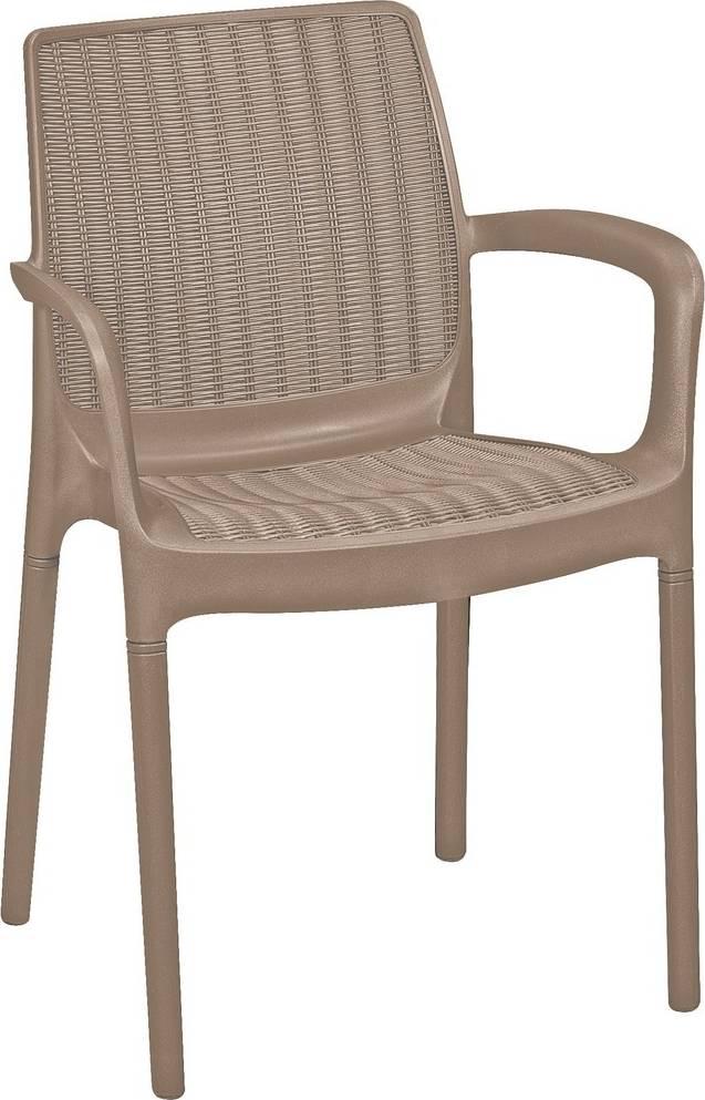 Zahradní židle Bali -capuccino 230671 ALLIBERT