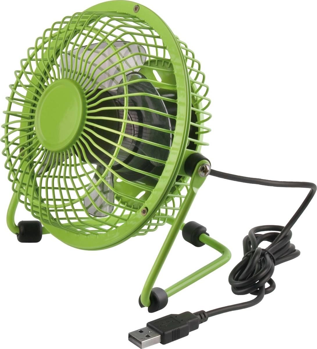 USB stolní ventilátor 5F01G - zelený 5F01G ARDES