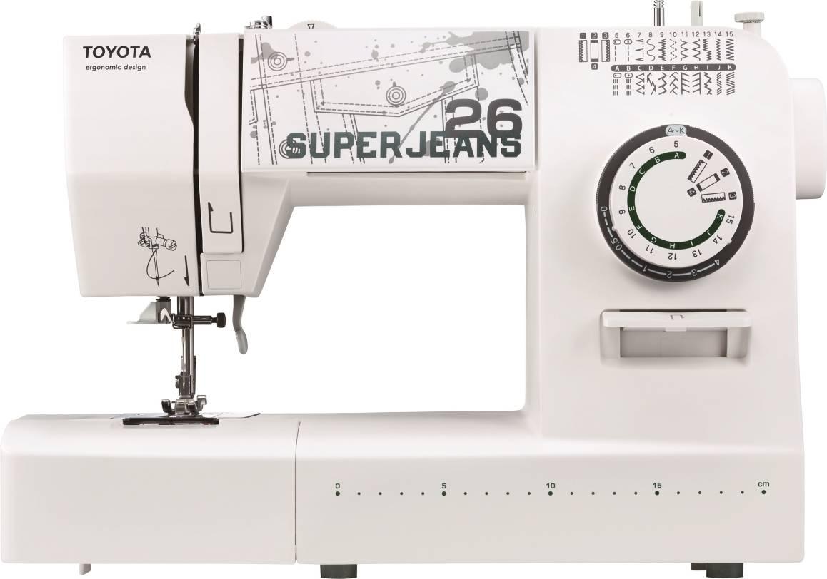 Šicí stroj Super J26 - White J26W TOYOTA
