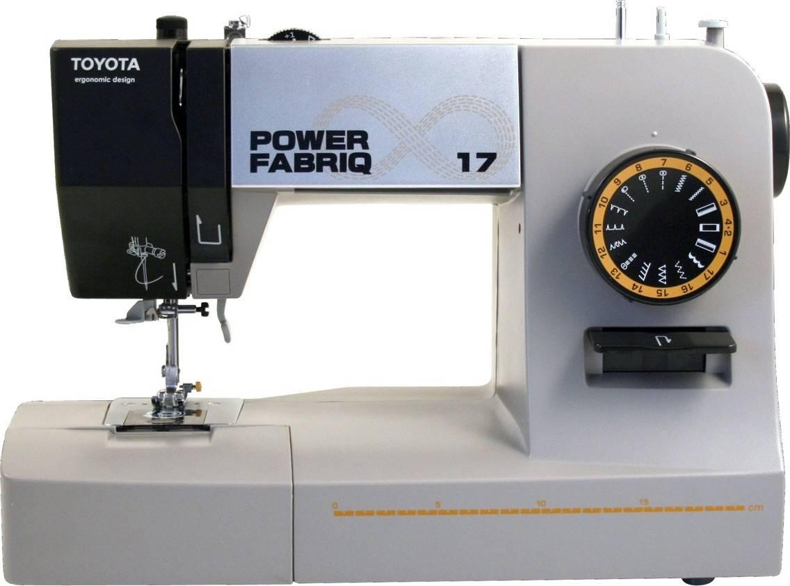 Šicí stroj Power Fabriq 17 PowerFab17 TOYOTA