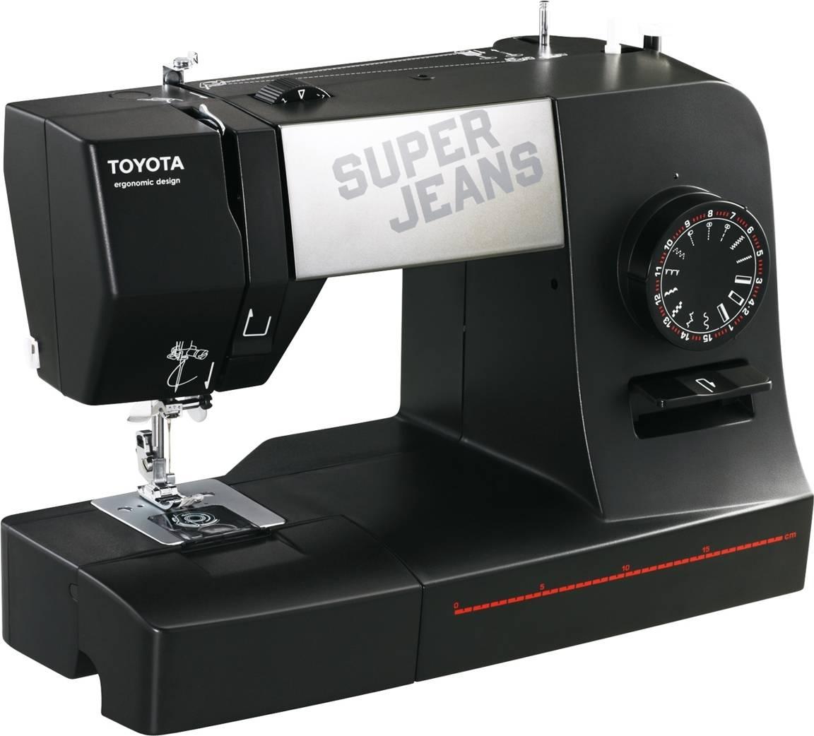 Šicí stroj Super J15 - Black J15B TOYOTA