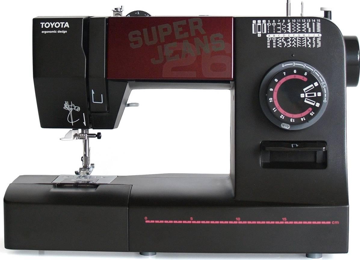 Šicí stroj Super J26 - Black J26 TOYOTA