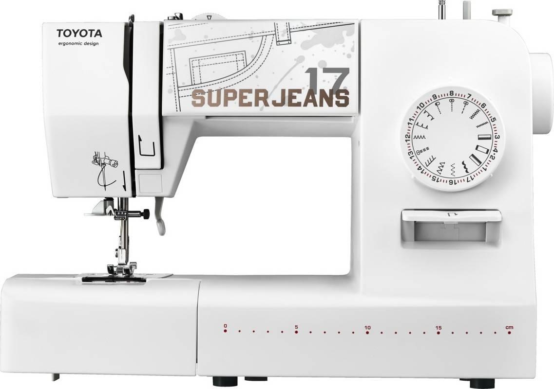 Šicí stroj Super J17 - White J17W TOYOTA