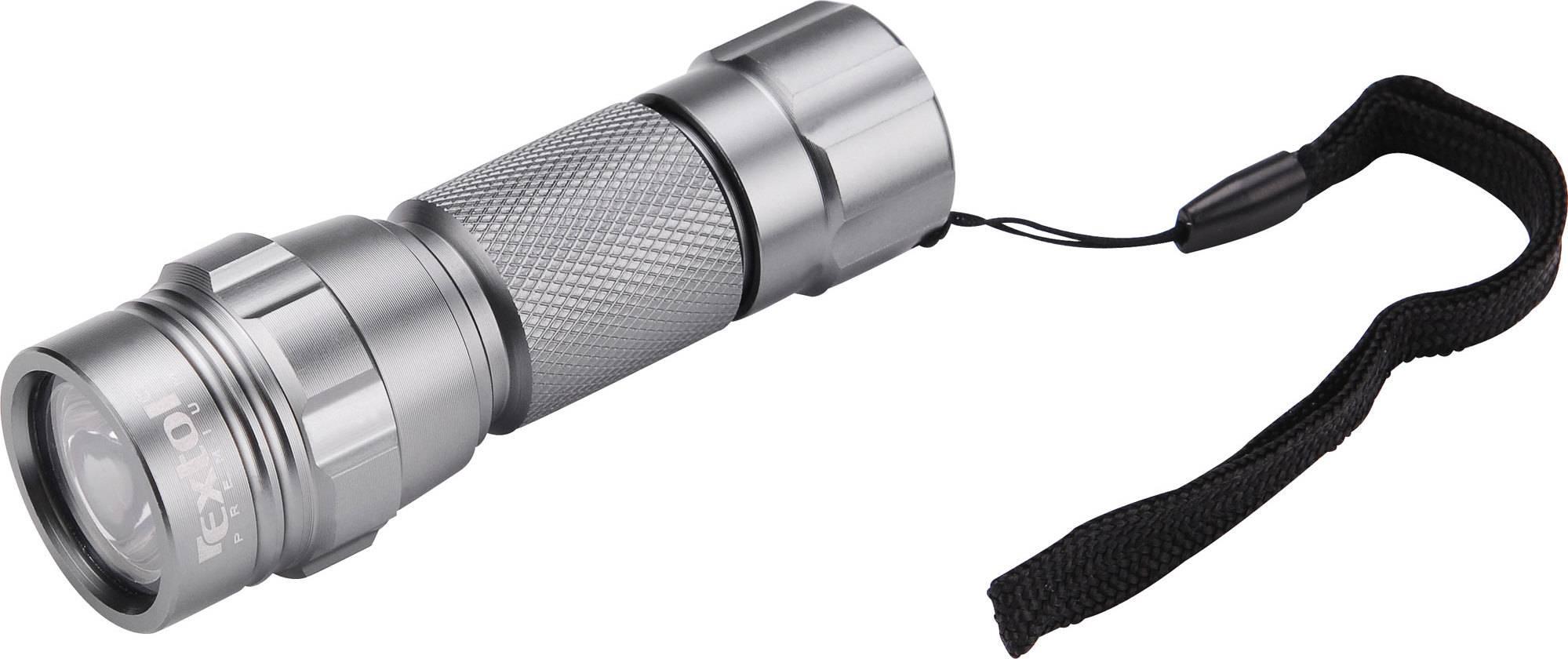 svítilna LED, celokovová, MINI, LED dioda, (30 000mcd), hliník 8862111 EXTOL PREMIUM