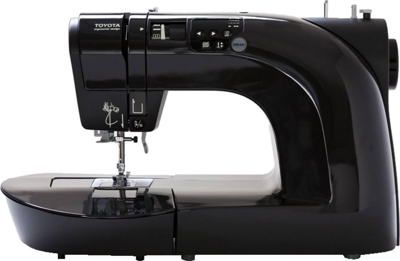 Šicí stroj OEKAKI Rennaissance 50B - černý OEKAKI50B TOYOTA