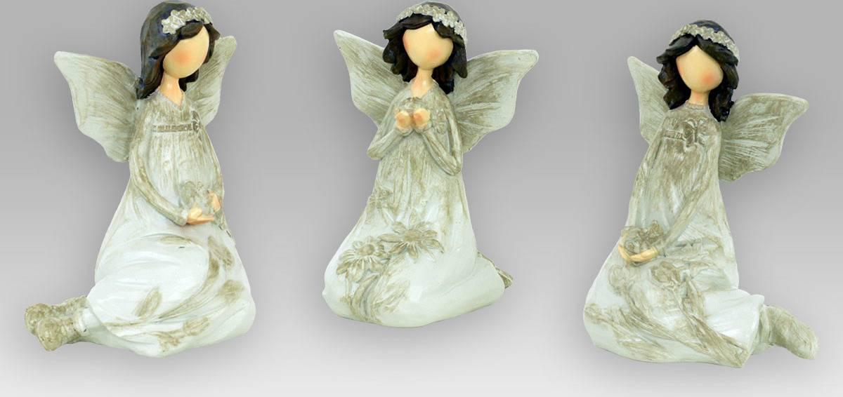 Anděl polyresinový, dekorace AND142 Art