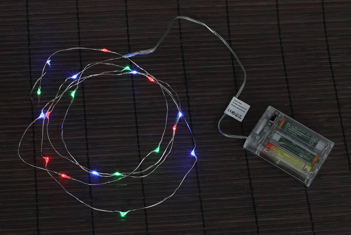 Řetěz s LED světýlky - vícebarevný LED724054 Art