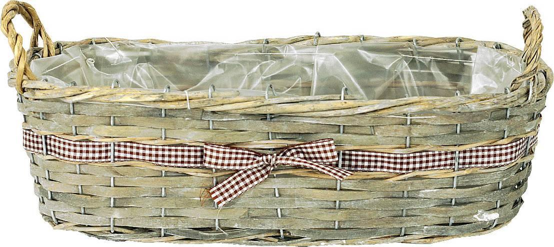 Obal dekorační, štípané dřevo -proutí PD103 Art