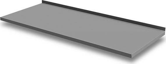 Nerezová deska GN 3100 se zadním lemem