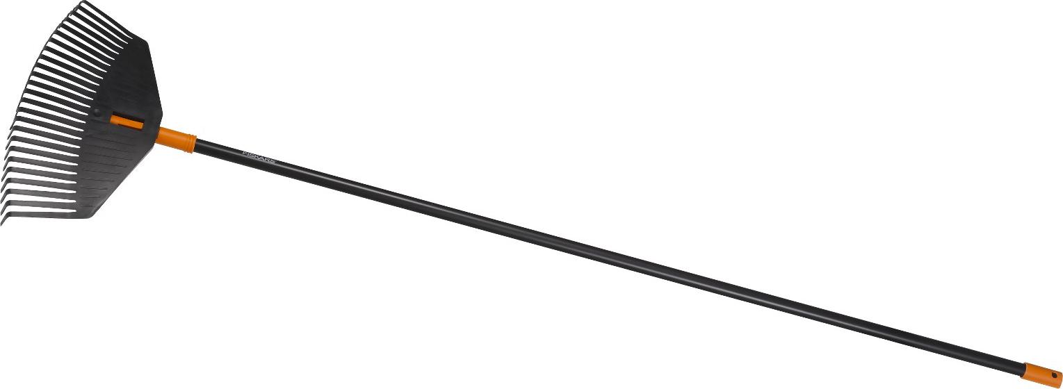 Hrábě Solid na listí (M) s násadou, komplet 1003464 Fiskars