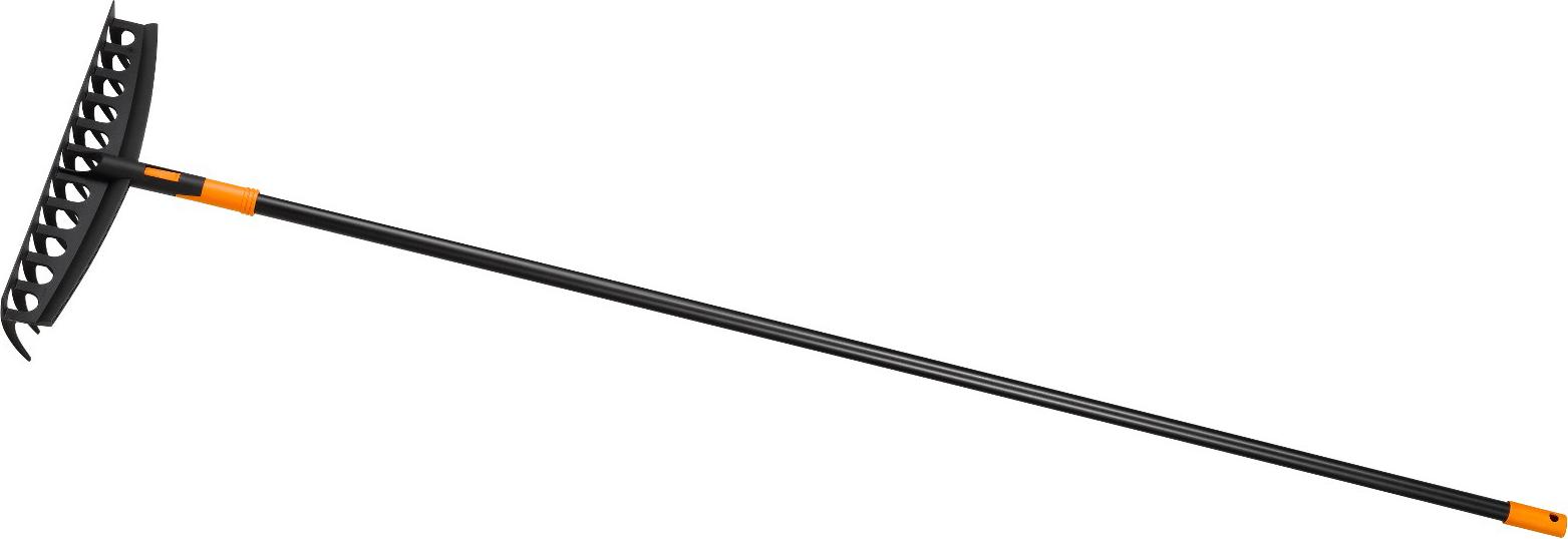 Univerzální hrábě Solid s násadou, komplet 1003466 Fiskars