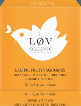 LOV Citrusové ovoce 20 mušelínových sáčků 44g EFAGR20S Kusmi tea