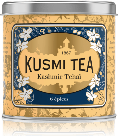 Kashmir Tchai plechovka 250g KASH250 Kusmi tea