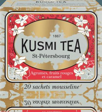 St. Petersburg 20 mušelínových sáčků 44g SAIN20S Kusmi tea