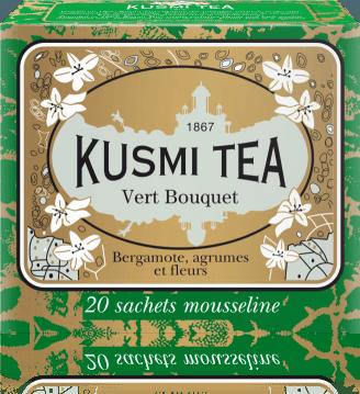 Green Bouquet plechovka 250g VBOU250 Kusmi tea