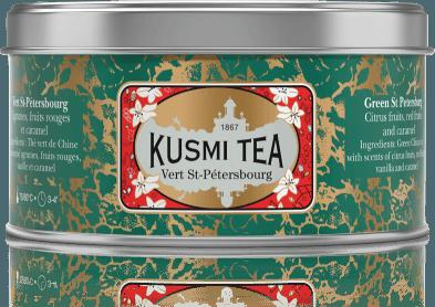 Green St. Petersburg plechovka 125g VSAI125 Kusmi tea