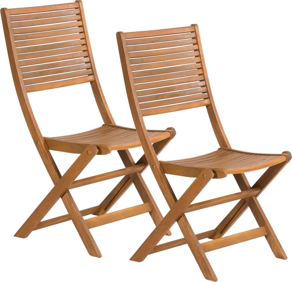 FDZN 4012-T Skládací židle 2ks 50001892 FIELDMANN