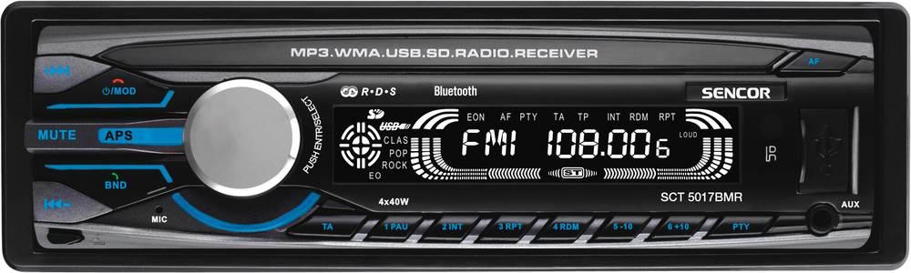 SCT 5017BMR BT AUTORÁDIO s USB/SD 35047749 SENCOR