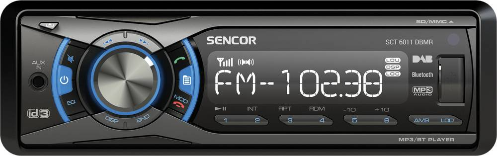 SCT 6011DBMR DAB+/USB/SD 35048826 SENCOR