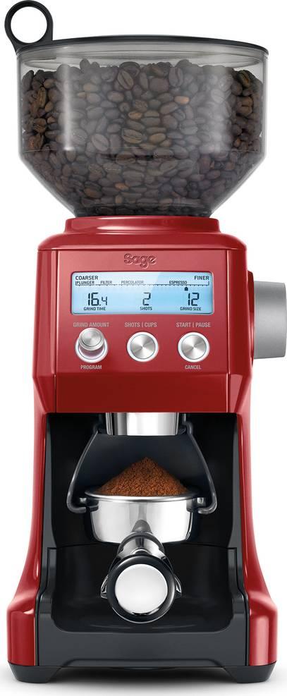 BCG820CRN Mlýnek na kávu červená 41007015 SAGE