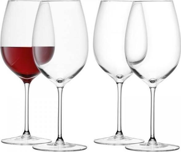 LSA Wine sklenice na červené víno 420ml, set 4ks, LSA, Handmade G1152-15-301 LSA International