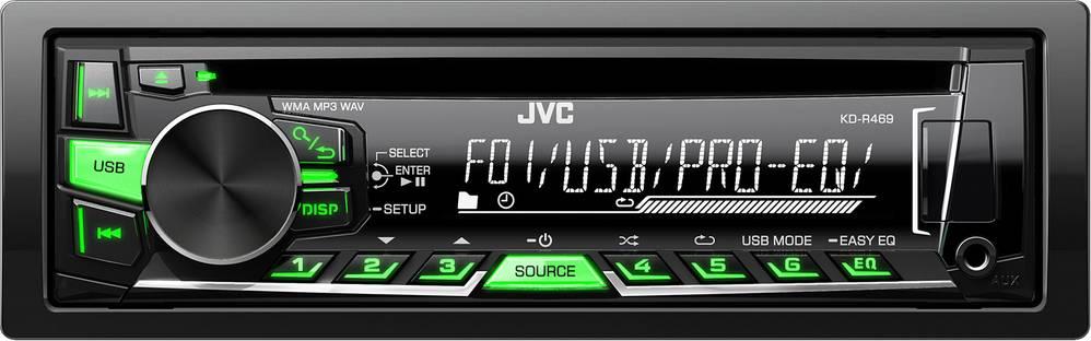 KD R469 AUTORÁDIO S CD/MP3/USB 35046125 JVC