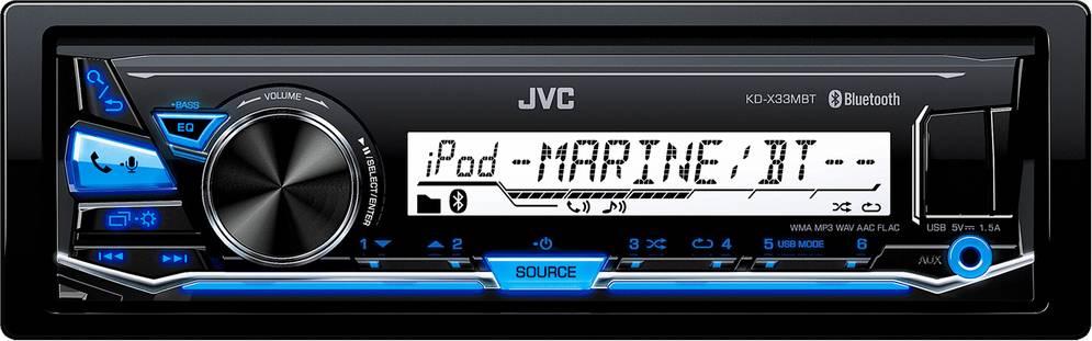 KD X33MBT AUTORÁDIO BT/USB/MP3 35047752 JVC