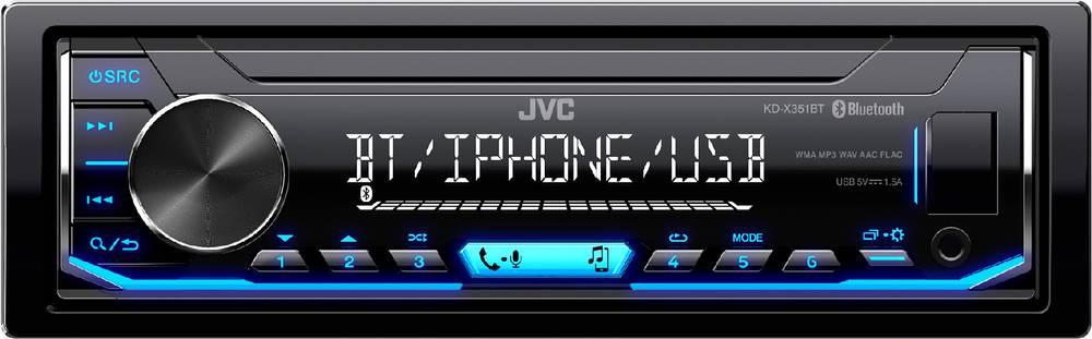 KD-X351BT AUTORÁDIO BT/USB/MP3 35050310 JVC