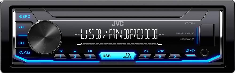KD-X151 AUTORÁDIO S USB/MP3 35050636 JVC