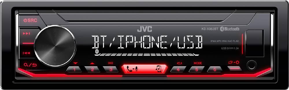 KD-X352BT AUTORÁDIO BT/USB/MP3 35050637 JVC