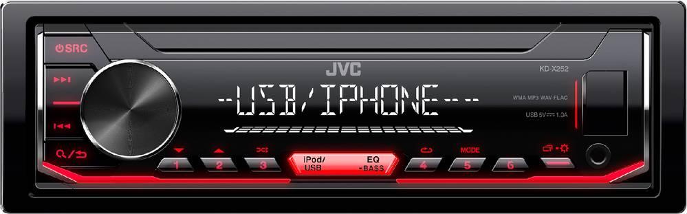 KD-X252 AUTORÁDIO S USB/MP3 35050638 JVC