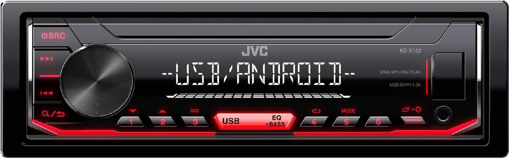 KD-X152 AUTORÁDIO S USB/MP3 35050639 JVC