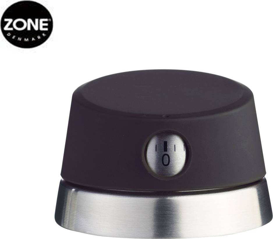 Minutka černá ZONE s magnetem