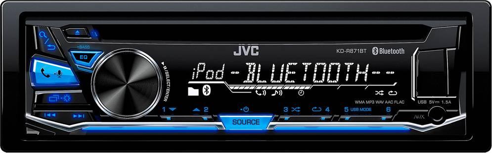 KD R871BT AUTORÁDIO S CD/MP3/BT 35047698 JVC