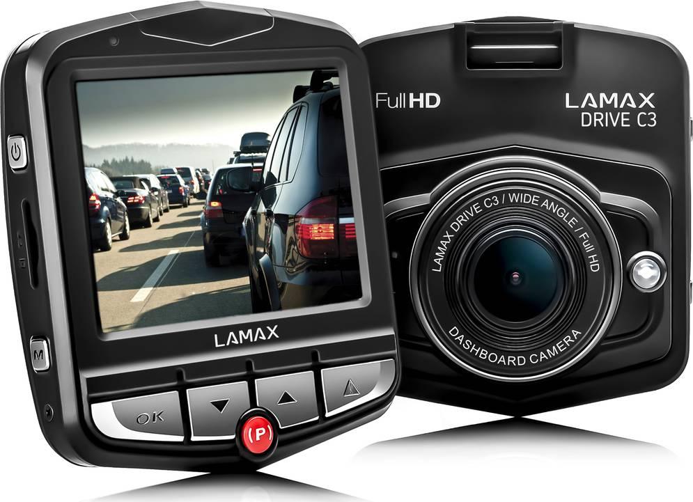 DRIVE C3 FullHD kamera do auta 35048190 LAMAX