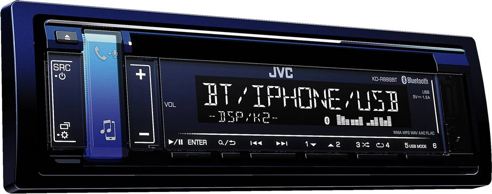 KD-R889BT AUTORÁDIO S CD/MP3/BT 35049163 JVC