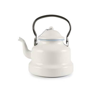 Smaltovaná konvička na čaj světle modrá 1l - Ibili