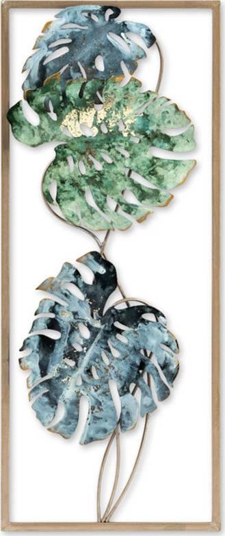 Kovová nástěnná dekorace FB-1450 Art