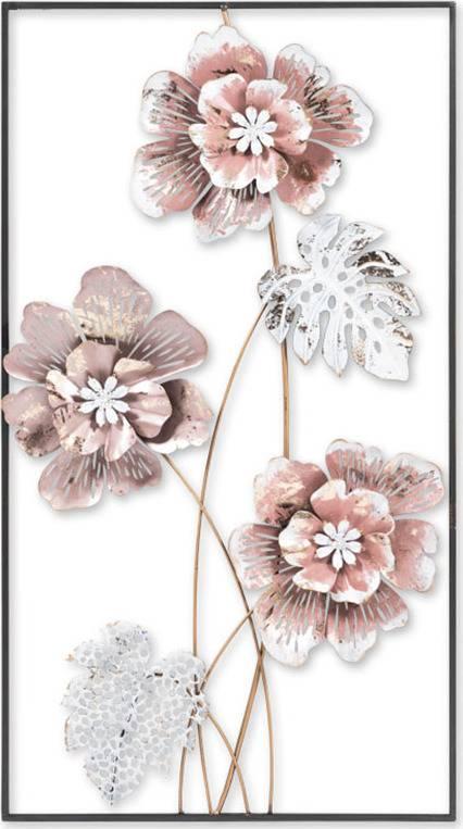 Kovová nástěnná dekorace FB-1451 Art