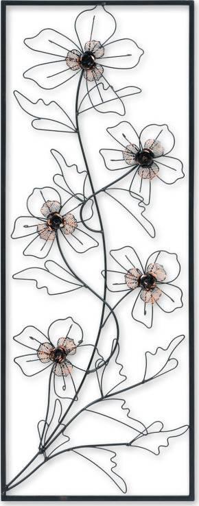Kovová nástěnná dekorace FB-1453 Art