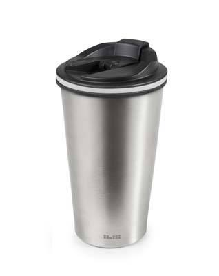 Termohrnek 0,4l stříbrný - Ibili