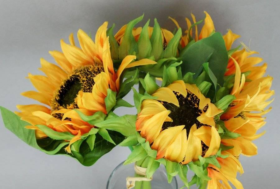 Slunečnice puget, umělá květina KUM3259 Art