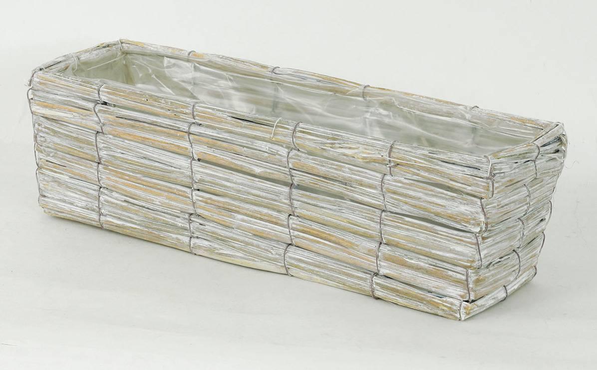 Truhlík dekorační, proutí PD107 Art