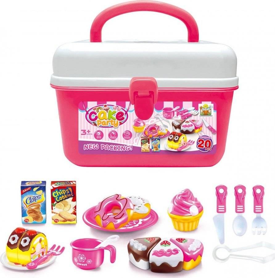 Hračka Pečení koláčků v kufříku 60026325 G21