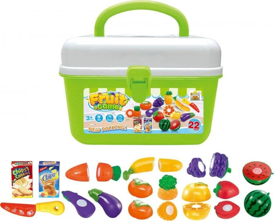 Hračka Ovoce a zelenina v kufříku 60026327 G21