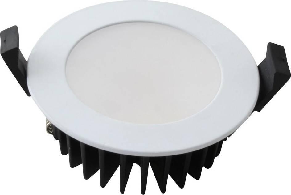 LED podhledový panel s krytím IP44, 10W, 800lm, 4000K, kulaté WD139 Solight