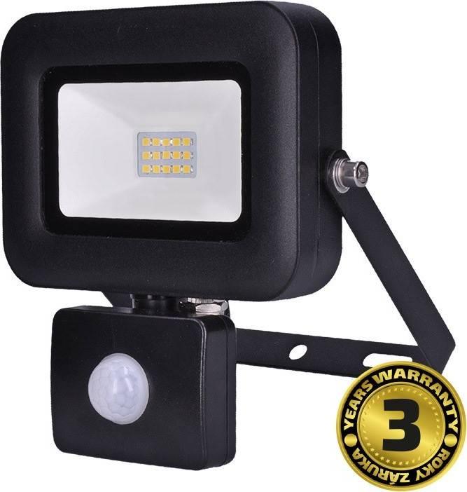 LED reflektor PRO se senzorem, 10W, 850lm, 5000K, IP44 WM-10WS-L Solight
