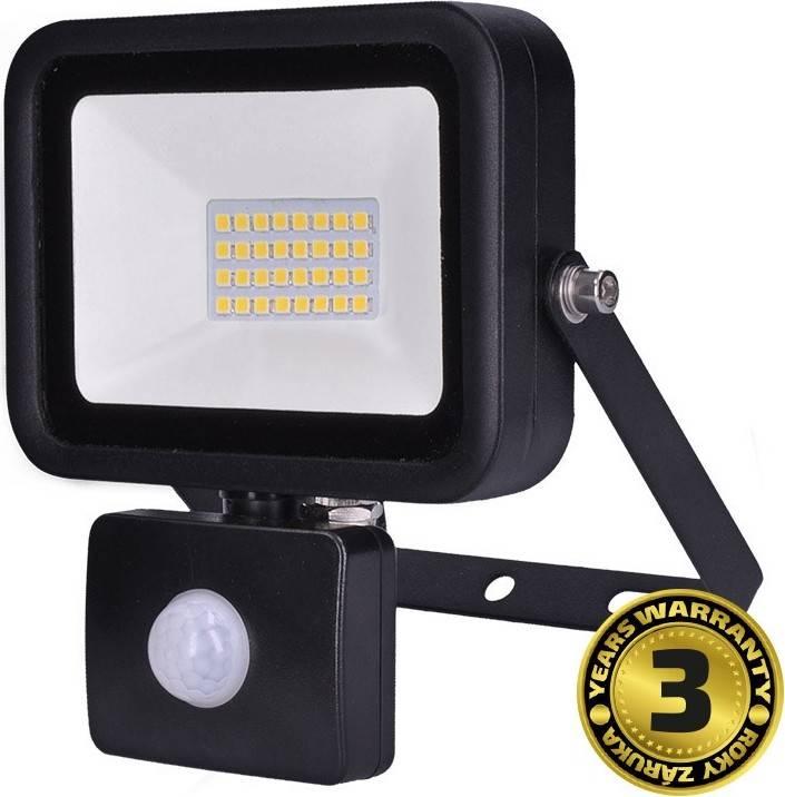 LED reflektor PRO se senzorem, 30W, 2550lm, 5000K, IP44 WM-30WS-L Solight