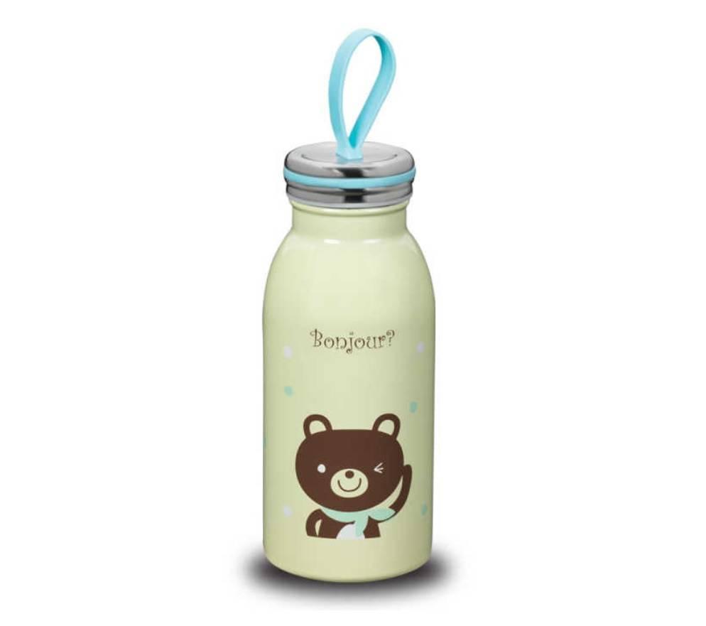 Termoska pro děti 350ml medvídek - Korkmaz